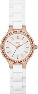 DKNY Women's Quartz Watch, Analog Display and Ceramic Strap NY2251