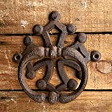 heurtoir de porte fonte avec croix occitane