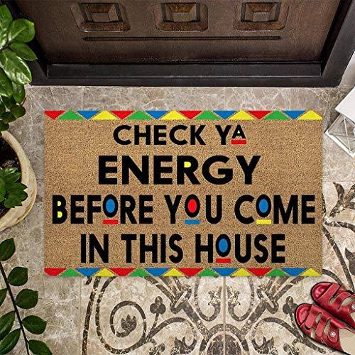 GadgetsTalk Funny Welcome Indoor Outdoor Doormat Home Decoration Door Rug Area Rug Decor Door Mat (L (18in x 30in))