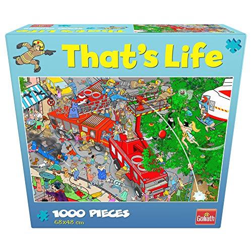 Goliath- Puzzle Brigada de Bomberos That's Life, Multicolor (919260006)