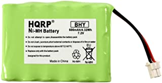HQRP 7.2V Battery Compatible with Honeywell Intrusion 300-06868 TSS Keypad, 8DLLKP500 8DLTSSCBASE1 8DLWLTP100 WLTP100 LKP500 Lyric Smart Peripheral Wireless Keypad TouchPad ADT