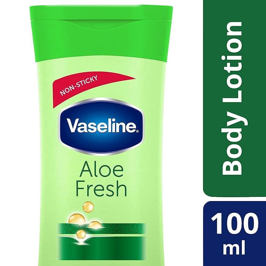 星種類ごめんなさいVaseline Intensive Care Aloe Fresh Body Lotion, 100 ml