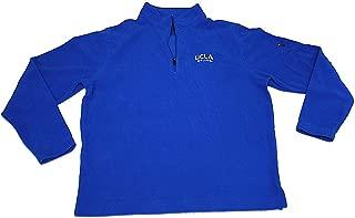 Gear for Sports UCLA Bruins Blue Knit Fleece Quarter-Zip Pullover Sweatshirt (L)