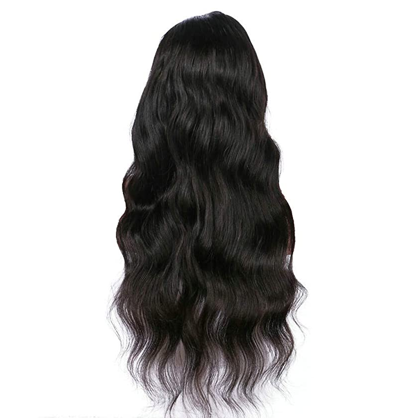 Natural Full Lace Gradient Wig Long Curly Hair Synthetic Wig Fashion Costume Wig lace front wigs human hair