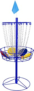 Trademark Innovations Portable Metal Disc Frisbee Golf Goal Set Comes with 6 Discs