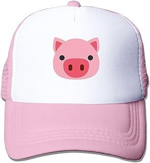 Pig Face Emoji Mesh Male Classic Trucker Baseball Cap