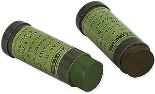 US Military NATO Woodland Camo Hunting Light Green Loam Face Paint Cream Stick