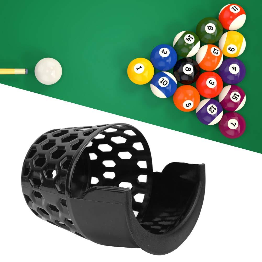 Ponacat Tela de Billar de Plástico Bolsillos de Mesa de Billar Sala de Juegos Sala de Billar Entretenimiento para El Hogar Juego de 6: Amazon.es: Deportes y aire libre