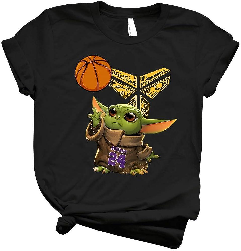 Amazon.com: Baby Yoda en 24 Jersey de Bryant & en memoria de Kobe ...