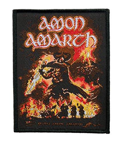 Amon Amarth Aufnäher - Surtur Rising Patch - Gewebt & Lizenziert !!