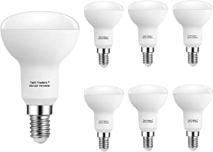 Tech Traders Reflector R50 LED Bulbs, E14, 7 W, Warm White-Pack of 6
