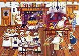 Buffalo Games - Charles Wysocki - Singing Piemakers - 300 Large Piece Jigsaw Puzzle
