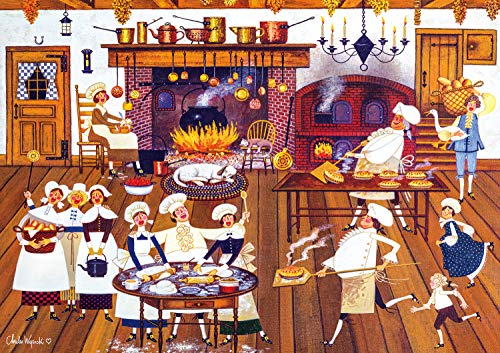 Buffalo Games - Charles Wysocki - Singing Piemakers - 300 Large Piece Jigsaw Puzzle