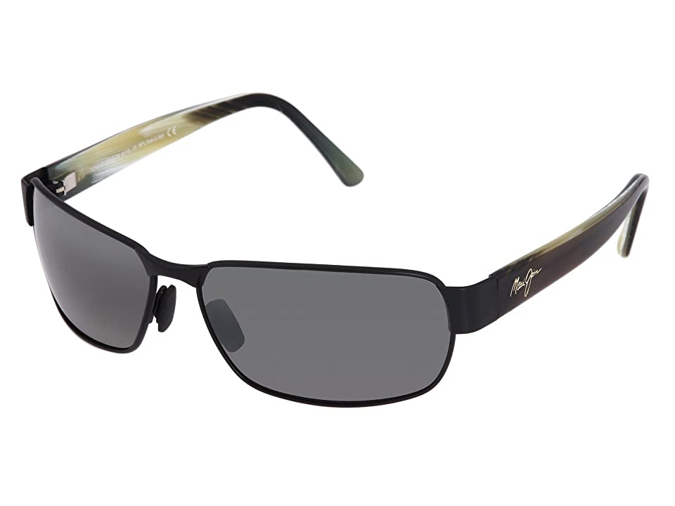 Maui Jim Black Coral (Matte Black/Neutral Grey) Sport Sunglasses