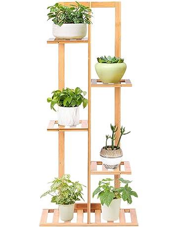 in stile rustico Supporto per piante da appendere in metallo 3 pezzi SH
