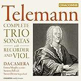Telemann: Die Triosonaten für Blockflöte & Viola - Da Camera
