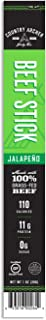 Country Archer Paleo Certified Grass-Fed Beef Stick, Jalapeno, 1 Count