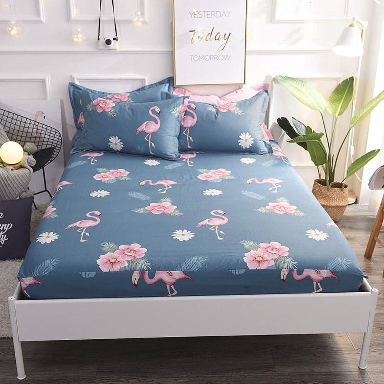 Cotton Mattress Topper, Comfort Flower Mattress Predector Bedroom Living Room Futon Bed roll-G 180x200cm(71x79inch)