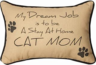 Manual Woodworker My Dream Job is to Be A Stay at Home Cat Mom Pillow - Cat Pillow - Outdoor/Indoor Pillow - Decorative Pi...