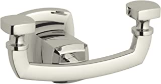 KOHLER K-16256-SN Margaux Robe Hook, Vibrant Polished Nickel