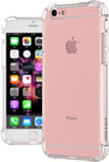 CISTOID Crystal Bumper Case for iPhone-6/6S-Case-Clear Shock Absorption Soft TPU Cover Case