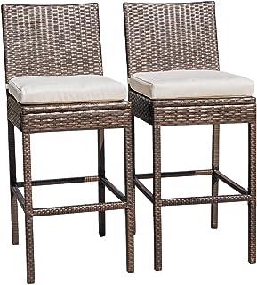 Amazon Com Patio Stools Bar Chairs Bar 29 33 Stools Bar Chairs Chairs Patio Lawn Garden