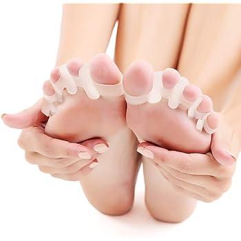 PLEASINGSAN 【改良版】 足指 広げる サポーター パッド シリコン 鍛える 伸ばす 足指セパレーター 男女兼用