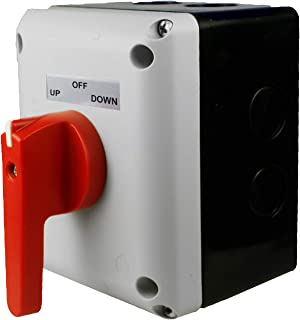 ASI Boat Lift Switch, Single Phase, Momentary - for use with 1HP to 2HP Electric Motors.