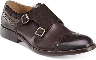 Johnston & Murphy Men's Fletcher Double Monk Strap Slip-On Loafers Brown