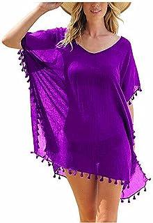Spódnice Seksowne Frędzle Odzież Plażowa Kobiety Strój Kąpielowy Cover Up Stroje Kąpielowe Kostiumy Kąpielowe Sukienka Luź...