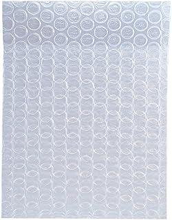 ボックスバンク プチプチ袋 エアキャップ袋 小物梱包 (120×120mm) 100枚セット 三層品 KF02-0100