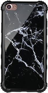 Love Mei - Carcasa para iPhone 8, diseño de mármol con Texto en inglés Never Fading IMD, Compatible con Apple iPhone 8 Apple iPhone 7