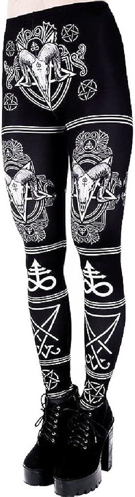 Restyle Satanic 正規逆輸入品 Occult Symbols Punk 本日の目玉 High Ram Pentagram Skull Wai
