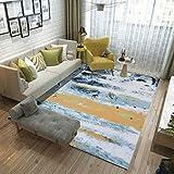 FVGB Teppich Wohnzimmer Shaggy Teppich Design In Verschiedenen Größen Fürs Wohnzimmer, Schlafzimmer, Esszimmer Oder Kinderzimmer 120x160cm