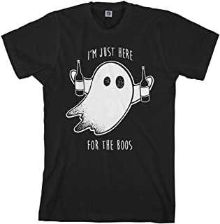Men's I'm Just Here for The Boos T-Shirt