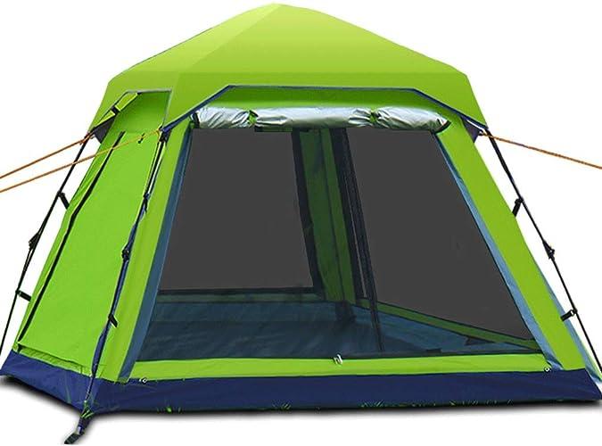 ZL-Tente Tente DE 4-6 Personnes imperméable à l'eau, étanche à l'humidité, Lutte antiparasitaire extérieure