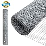 VOUNOT Grillage a Poule 1x25m Maille 13mm...