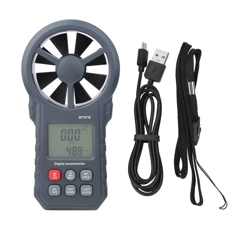Max 83% OFF Digital Anemometer WT87B Handheld Deluxe Portable Wind S Bluetooth USB