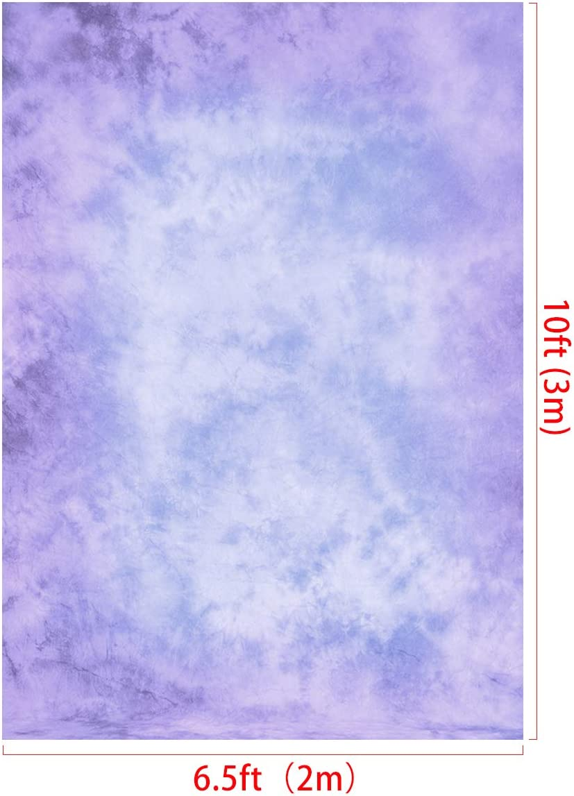 RBQOKJ 5x7ft Purple Abstract Backdrop Traditional Painted Texture Photography Background Vinyl Vintage Purple Photo Backdrops Photographer Headshot Portrait Shoot Backgrounds Studio Prop
