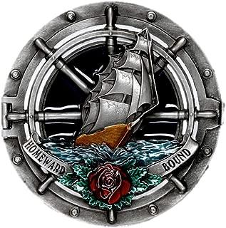 Baoblaze Hebilla de Cintur/ón Patr/ón Turquesa//Toro//Perro//Pescar para Pantalones Vaquero Jeans