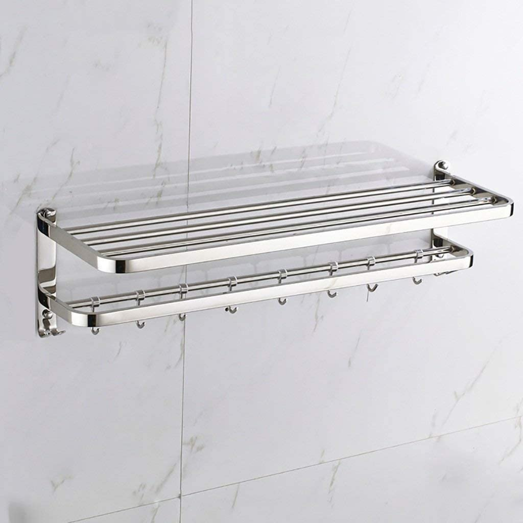 LXDZXY Max 67% OFF Towel Large discharge sale Rails Wall-Mounted Bath Stainless Rack St 304