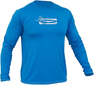 Gul Mens Tee Fit I-Flex UV50 Rash Vest T-Shirt Long Sleeve