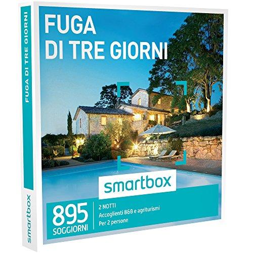 Smartbox - Fuga Di Tre Giorni - 895 Soggiorni In B&B e Agriturismi, Cofanetto Regalo