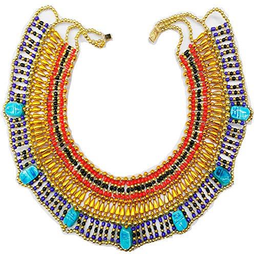 Cleopatra Antiguo Egipto Danza del Vientre, Collar Pectoral