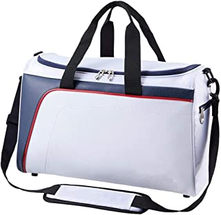 Golf Clothing Bag, Travel Handbag, 100% Waterproof, Multi-Color Optional happyL (Color : White)