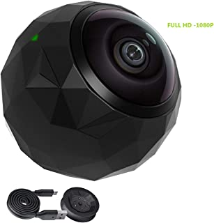 360fly 360° HD Video 1080p Camera -Dust-Proof, Shockproof, Water Resistant- (Renewed)