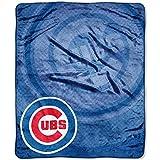 MLB Chicago Cubs 'Retro' Raschel Throw Blanket, 50' x 60'