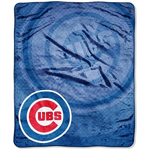 "MLB Chicago Cubs ""Retro"" Raschel Throw Blanket, 50"" x 60"""