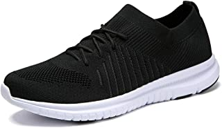 QIUYIXI Men's Slip On Walking Shoes Lightweight Causual Running Sneakers