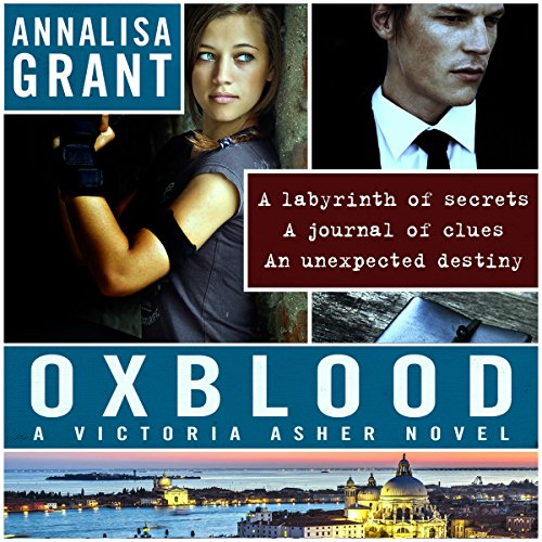 Oxblood audiobook cover art